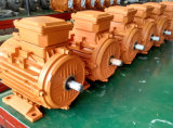 мотор AC ~ 2pole 3000rpm 4kw/5.5HP (алюминиевая рамка B3)