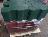 Esteras al aire libre de goma elásticos del patio/azulejo de goma
