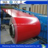Umweltfreundliche vorgestrichene galvanisierte Stahl-Ringe/Farbe beschichteten Stahlringe/PPGI für Dach-Materialien