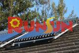 Spalte unter Druck gesetzter Solarwarmwasserbereiter-Kollektor