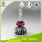 linterna del coche LED de 38W 5000lm 6000k 12V 24V S15 Canbus