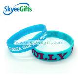Bracelet coloré concave de silicones de vente chaude
