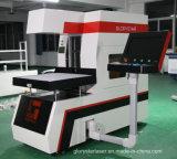 macchina dinamica della marcatura del laser del fuoco 3D per Jean, legno, bambù