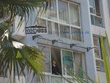 Pabellón del toldo del policarbonato DIY/abrigo de la cortina para las puertas de Windows&