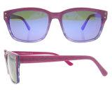 Gafas de sol de acetato italianos hechos a mano gafas de sol polarizadas con CE y FDA