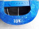 Bordado 3D sublimación Hip-Hop borde casquillo de la PU (GD001)