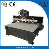 Maquinaria de Woodworking das Mult-Cabeças Acut-1325, máquina do router do CNC com GV. Ce