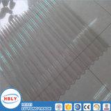 Material de telhado de escorrimento claro Proteção UV Folha de policarbonato ondulado