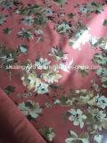 Cópia japonesa da flor do estilo chinês da camurça de Microfiber para o vestuário dos sacos
