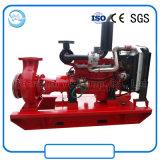 Bomba centrífuga da irrigação da agricultura do motor Diesel da sução do fim