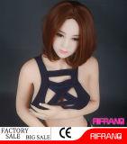 158cm feste Größengleichsilikon-Geschlechts-Puppe mit dem Metalskelett