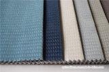 Divers tissu de sofa de polyester de jacquard de couleur