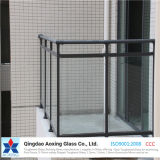 シャワーのドアのための3mm-19mmの明確な強くされたガラスか手すりまたは囲うこと
