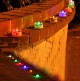 Paver Cobble тысячелетия освещает свет шага набора солнечный