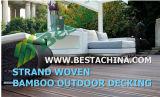 물가에 의하여 길쌈되는 옥외 Decking 프로젝트, 길쌈하는 물가 프로젝트 최고 공급자를 마루청을 깔기