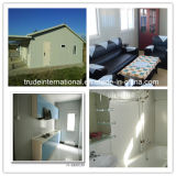 개인적인 설비 홈으로 이용되는 강철 조립식 가옥 또는 Prefabricated 건물