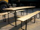 Jogo da tabela da cerveja da madeira contínua