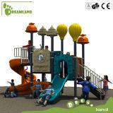 Открытая площадка с качелями и набором слайдов, дешевая площадка для детей