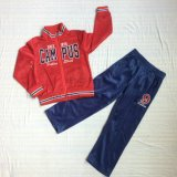 Poliéster Tricot Red Boy traje ropa de deporte en niños Ropa SQ-6223
