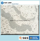 Pedra artificial de quartzo para o material de construção de superfície contínuo do Countertop/da cozinha da parte superior de tabela
