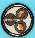 Midden Voltage 18/30 (33) Kv Gepantserde Kabel van de Band van het Staal van de Leider van het Koper de XLPE Geïsoleerdel