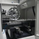 Mag van het aluminium de Rand renoveert de Machine Awr28h van de Draaibank van de Reparatie van het Wiel