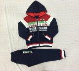 Terno de treino de esportes Kids Boy para roupa infantil Sq-6702