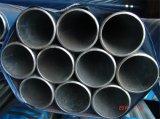 Tubo galvanizado del andamio del acero inconsútil de ERW