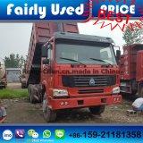 쓰레기꾼 트럭 Sinotruck HOWO에 의하여 사용되는 6*4
