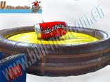 Игрушка резвится раздувной механически Bull в парке атракционов