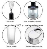 2 속도 250/500 와트 Immersion Hand Blender