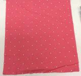 /Viscosa tessuto dell'indumento stampato Polka di tela, tessuto di tessile domestico
