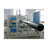 Linea di produzione di plastica del tubo di bobina dell'HDPE/riga dell'espulsione/macchina dell'espulsore (TCRG-1600)
