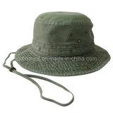 غسلها قماش القطن الترفيه الصياد قبعة دلو ( TM2021 )