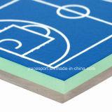 L'unità di elaborazione disponibile del silicone di vario spessore mette in mostra i pavimenti