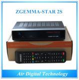 HD DVB S2&S Twin Tuner Satellite Receiver Samsung Tuner con IPTV Zgemma-Star 2s