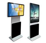 42インチの床の立場LCDデジタルの表記サポート360度の回転