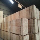38mm 소나무 건축을%s 물자 페놀 접착제 LVL에 의하여 박판으로 만들어지는 베니어 재목