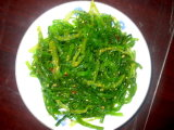 Salada de algas congeladas
