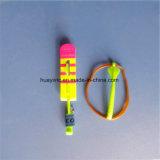 L'aletta di filatoio istantanea del Rocket degli elicotteri del LED scherza le ali fluorescenti del giocattolo all'ingrosso