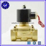 Válvula de bronze elétrica de bronze da válvula de solenóide da água da válvula de solenóide da C.C. 12V DC24V