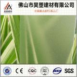 10mm Berijpt van het Polycarbonaat Stevig Blad Gekleurd PC- Blad met UVBescherming voor BinnenDeuren