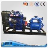 Unidad Diesel Bomba de agua de aguas residuales remolque horizontal