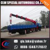새로운 유압 6 8 10 판매, 360 도 교체를 위한 12 톤 작은 트럭에 의하여 거치되는 기중기 7 톤 트럭 기중기