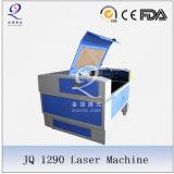 Sello de goma que hace la máquina del laser
