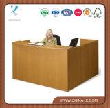 Hölzernes L Form-zeitgenössischer Empfang-Schreibtisch