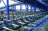 Transportador de correa grande de la inclinación del SPD, sistema de transportador para el puerto marítimo, puerto