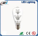 MTX卸し売り多彩なLEDの球根のエジソンの電球の創造的な木か赤ん坊の呼吸型ST64 E27