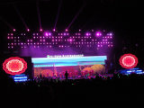 Vollkommener Bildleistung P6.25 im Freien farbenreicher Bildschirm der Miete-LED für Feier-Stadium