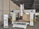 5つの軸線中国CNCの製粉の木製のルーター